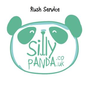 Silly Panda_green&white